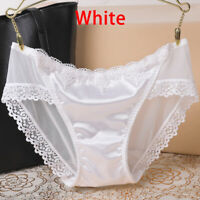 Women's Casual Comfort Seamless Hipster Panties Sexy Lace Shorts Underwear Soft