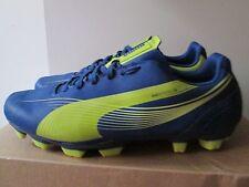 Puma EvoSpeed 5 Soccer Cleats Blue Lime Green Size 8 Lightweight Soccer Cleats