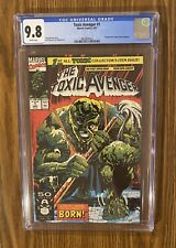 Toxic Avenger #1, Marvel Comics, CGC 9.8, White Pages! Movie Coming ! 🔥 🔑 🔥