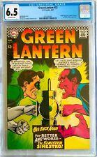 Green Lantern #52; April 1967; Silver Age; CGC 6.5; Sinestro Cover