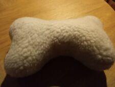 Plush Dog Squeaking Dog Bone