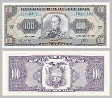 Ecuador 100 Sucres 1993 p123Ab unz.