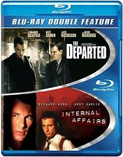 The Departed / Internal Affairs (Blu-ray 2 disc) NEW