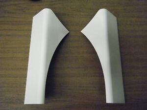 Caravan Swift Group Rear/Back Panel Top Corner Repair Cap/Covers - Pair (08-10)