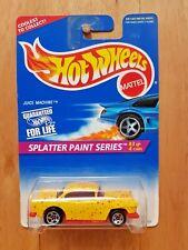 HOT WHEELS 1996 SPLATTER PAINT SERIES 3/4 JUICE MACHINE ('55 CHEVY) #963 (A+/A-)