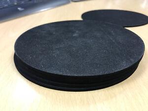Pack of 5, 3mm EP/Neoprene Sponge Discs 155mm Diameter