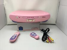Disney Princess DVD Player With Both Remotes Tested Working Pink Model DVD2050P