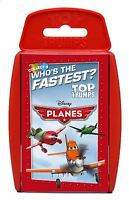 Top Trumps Disney Planes Who's The Fastest Card Game 20787