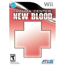 Nintendo Wii PAL version trauma Center Blood