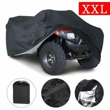 Black XXL Waterproof ATC ATV Cover Fit Polaris Honda Can-Am Suzuki Weather Cover