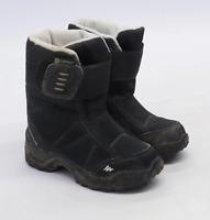 Decathlon Boys UK Size 7.5 Black Boots