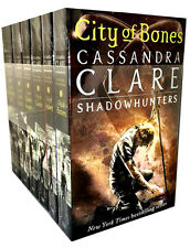 Cassandra Clare Mortal Instruments 6 Books Collection Set Shadowhunter NEW Cover