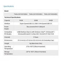 TransMemory USB 3.0 Flash Drive 32gb Toshiba 167696