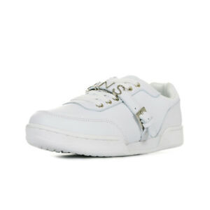 Chaussures Baskets Versace Jeans femme Linea Fondo Book Dis 1 taille Blanc