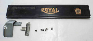 Original Royal Model 10 Replacement Paper Rest & Guide ~ Nice Graphics