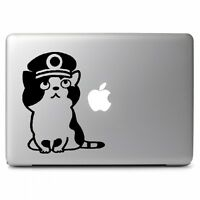 Japanese Cat stationmaster Tama Decal Sticker for Macbook Laptop Car Window Wall