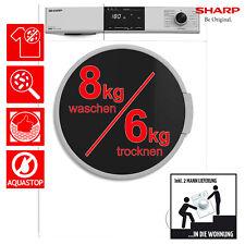Waschtrockner Frontlader Sharp ES-HDB87WD-DE 8kg/6kg Aquastop 2ML
