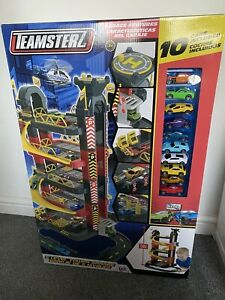 Teamstez Five Levels Tower Garage - Included 10 Cars Brand New