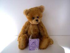 Ooak By Debbi Peek Signed 2002 Peek A Boo Bear German Mohair Eyes 8 Inch Rare