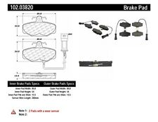 Disc Brake Pad Set fits 1988-1989 Merkur Scorpio  C-TEK BY CENTRIC