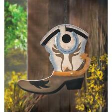 Western Boot Birdhouse 13906 Smc 50% Off $7.47