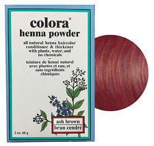 Colora Henna Powder All Natural Hair Color 60g Ash Brown