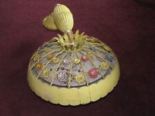Globe Lighting Products Vintage Florentine Floral Lamp Ceiling Light MCM