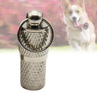 KQ_ FP- Dog Tags Engraved Cats Puppy Pet ID Name Collar Tags Cylinder Nove