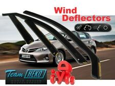 HEKO wind deflectors FULL 4-piece set TOYOTA AURIS mk2 5-doors estate since 2013