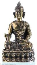 Mini Medizinbuddha - Buddha Statue Messing 4,3cm - Handarbeit Nepal Ministatue