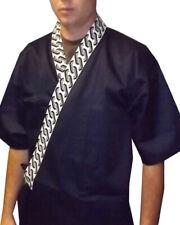 Sushi Chef Uniform Sushi Server Coat Japanese Kimono Happi Coat Sushi Chef Coats