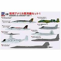 PIT-ROAD SKYWAVE 1/700 MODERN US AIRCRAFT SET 1 Kit S53 w/ Tracking NEW