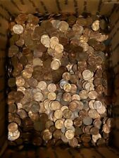 10,000 1959-1982 Copper Cents - Bulk Bullion Lot!