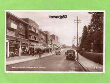 South Road  Haywards Heath Shop Motor Car unused RP pc 1938 Valentines Ref B359