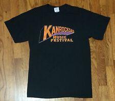 2011 Kanrocksas Small 50/50 Cotton/Polly T Shirt Eminem Muse Black Keys Primus