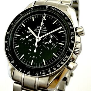 OMEGA Speedmaster Professional 145.0022 Chronograph Black 100%AUTHENTIC CF7876