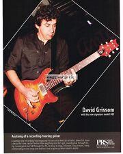 2008 PRS DGT  Electric Guitar DAVID GRISSOM advertisement