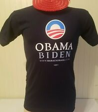 OFFICIAL 2008 OBAMA - BIDEN  PRESIDENTIAL CAMPAIGN T-SHIRT   SIZE SMALL