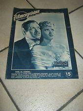 FILM MAGAZINE,1947,IL FANTASMA DELL'OPERA,Phantom,Lubin, Susanna Foster,N.Eddy