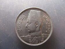 EGIPTO FAROUK 10 PIASTRAS - 10 PIASTRAS 1937 AH1356 MBC+
