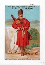 Chromo. Armée russe. Cosaque de la garde impériale