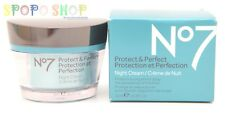 BOOTS No 7 Protect & Perfect INTENSE Night Cream (50ml) 100%Authentic NewPackage