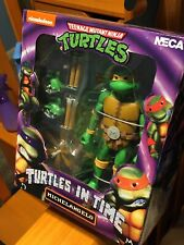 NECA TMNT Turtles In Time Michelangelo Wave 2 Figure Brand New!!!