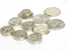 U.S. 90% Silver Coins Half Dollars, Quarters And Dimes $10.00 Face Value