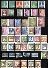 GERMAN DEUTSCHE POST OCCUPATION Stamps Collection BERLIN MINT LH USED