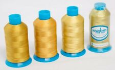 Marathon Polyester Embroidery machine thread: Shade Pack - Golds 4 x 1,000m