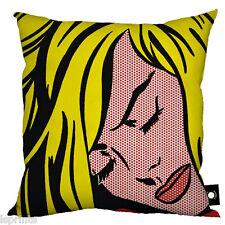LICHTENSTEIN POP ART DESIGN 4 COMIC STRIP CUSHION GREAT GIFT IDEA HOME DECOR