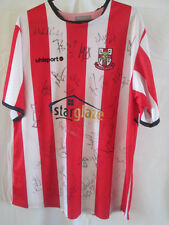 Lincoln City 2006-2007 Squad Signed Home Football Shirt with COA /8523