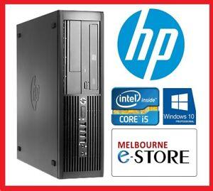 Refurbished HP 4300 Quad Core i5 3470S 4GB 8GB RAM 500GB 10 Pro Used Desktop PC