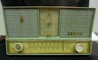 1959 Zenith model B-728 clock radio for Parts or Restoration